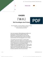 KAGEN - Die Grundlagen Des Preises