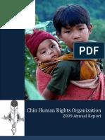 CHRO Annual Report 2009