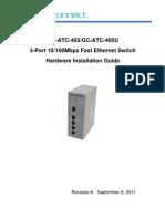GC-ATC-405(U) Hardware Installation Guide