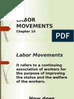 Labor Movements