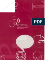 Políticas Públicas del Libro, La Lectura, la Escritura y las bibliotecas - carpeta de cultura