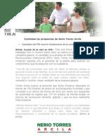 28-04-2015 Continúan las propuestas de Nerio Torres Arcila