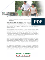 29-04-2015 Contacto cercano con los meridanos, a través de 'Audiencias con Nerio'