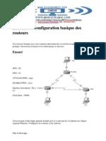 TP Configuration Basique Des Routeurs