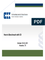 1 How to Benchmark With CII