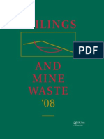 Handbook Tailings and Mine Waste 2008