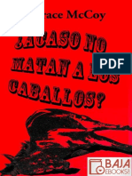 _Acaso No Matan a Los Caballos_ - Horace McCoy (1)