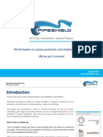 Pipeshield Products and Services