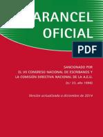 Arancel Notarial Dic2014 Uruguay