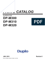 DP-M300 Series_Parts Manual