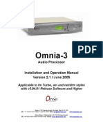 Omnia 3 Turbo 3fm 3am 3net 3drm Manual Version 2.1