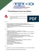 TP Per Missions d Acces Aux Fichiers