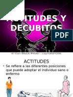 Actitudes y Decubitos