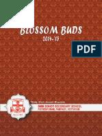 Blossom Buds 2014-15
