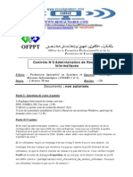 Controle de Fin de Module ADMIN RESO Sous LINUX V1