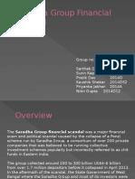 Saradha Group Financial Scandal