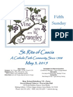 St. Rita Parish Bulletin 5/3/2015