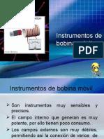 Instrumentos de Bobina Movil