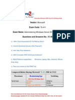 Braindump2go New Updated 70-411 Practice Exams Questions Free Download (31-40)