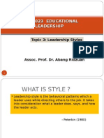 Topic 3 LEADERSHIP STYLES.ppt