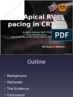 RoDaroHW Non Apical RV Pacing in CRT