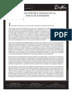 7.Geopolitica italiana en la epoca de Leonardo