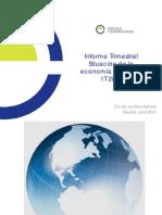 Informe Trimestral Situación Económica Española 1T 2015 Círculo de Empresarios Abril 2015
