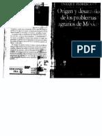 Florescano - 1986 - Origen y Desarrollo de Los Problemas Agrarios en México