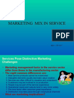 - Marketing Mix Service