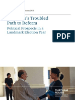 Chathamhouse Myanmar Political Prospects Feb2015