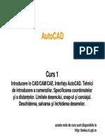 Curs AutoCAD - 1