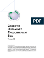 CUES Code for Unplanned Encounters at Sea 2014
