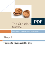 The Constitution in a Nutshell