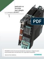 Folleto Siemens Sinamics s110