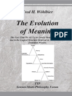 Fred H. Wöhlbier. The Evolution of Meaning
