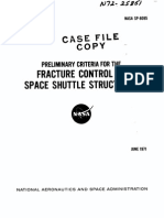 NASA SP-8095 Fracture Control of Space Shuttle Structures