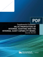 SG - Value Proposition of IA and the IA Capability Model