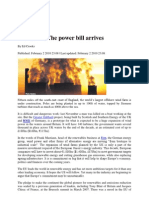 Resources, The Power Bill Arrives