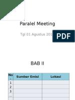 Template Paralel Meeting