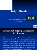 Help Desk 03 Troubleshooting Computer Problems
