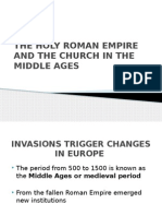 The Holy Roman Empire and the Church in the Middle Ages (1).Pptx..