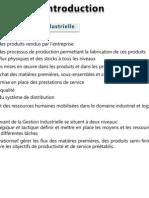 Cours d'Introduction à La Gestion Industrielle