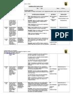 Planificación Diaria Abril, Matemática, Sexto Básico 2014, Paola Armijo - Copia