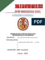 Informe de La Obra de Manuel Prado[1]