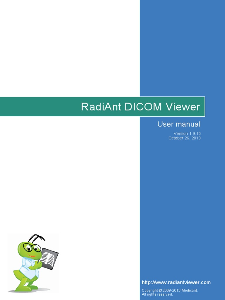 Radiant Manual | Medical Imaging | Icon (Computing)