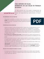 Normativa de Las Salas de Trabajo en Grupo del CRAI Antonio de Ulloa