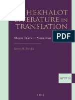(20) (Supplements to the Journal of Jewish Thought and Philosophy) James Davila-Hekhalot Literature in Translation_ Major Texts of Merkavah Mysticism-BRILL (2013)
