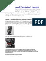 Memulai Fotografi Flash Dalam 9 Langkah
