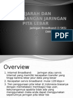 Slide1_Sejarah Dan Perkembangan Sejarah Pita Lebar