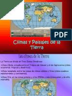 Climas y Paisajes de La Tierra